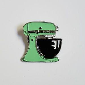 Jewelry - Kitchenaid Mixer Mint Green Pin